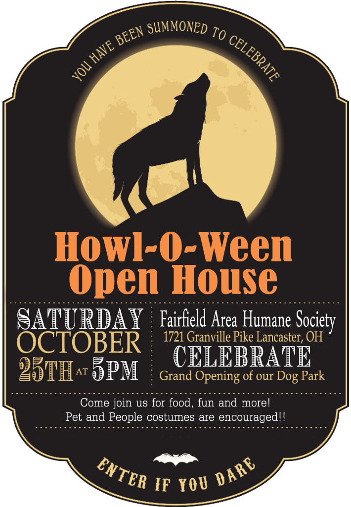 Howl-O-Ween Open House Event